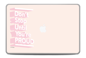 "Don't Stop Skin MacBook Pro 17"" -2015"