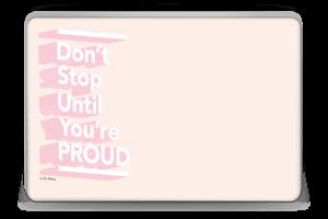 Don't Stop Skin Laptop 15.6