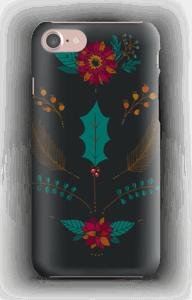 Winter Bouquet dark deksel IPhone 7
