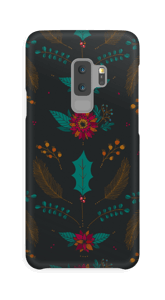 Winter dunkler Zauber Handyhülle Galaxy S9 Plus