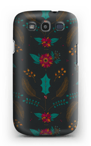 Winter Bouquet pattern case Galaxy S3
