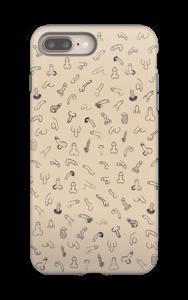 Kikkeli kuoret IPhone 8 Plus tough
