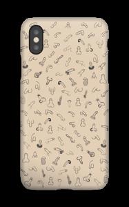 Penes Beige funda IPhone XS