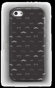 White moustaches Coque  IPhone 5/5s tough