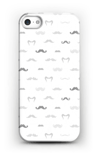 Black Moustaches Coque  IPhone SE