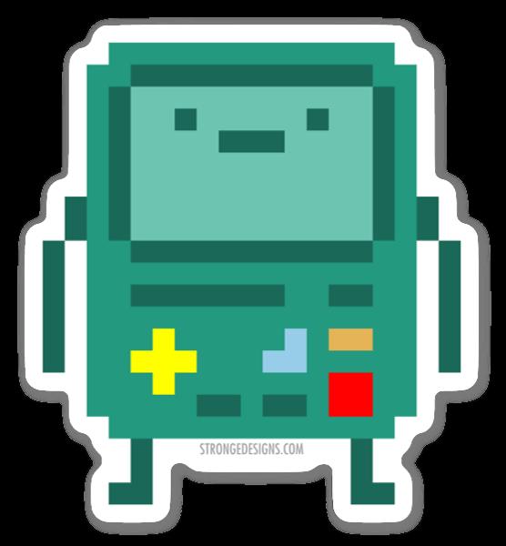 Game Pixel Boy sticker