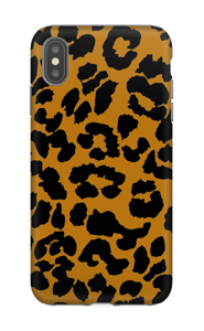 Klassisk leopard skal IPhone XS Max tough