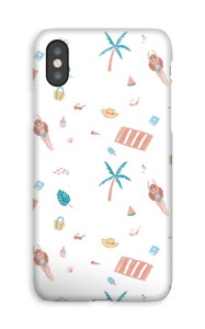 Beach Day deksel IPhone XS