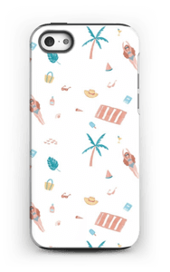 Beach Day deksel IPhone 5/5s tough