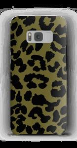 Leopard grön skal Galaxy S8