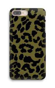 Leopard grön skal IPhone 8 Plus