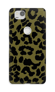 Green leopard case Pixel 2