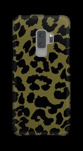 Leopard grön skal Galaxy S9 Plus