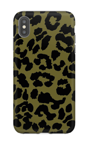 Leopard grön skal IPhone XS Max tough
