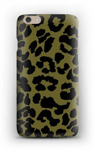 Leopard mörk skal IPhone 6 Plus