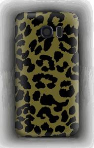 Leopard grön skal Galaxy S6