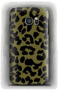 Leopard grön skal Galaxy S7