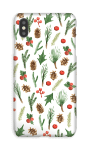 Wintery Mix case IPhone XS Max