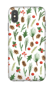 Wintery Mix case IPhone XS Max tough