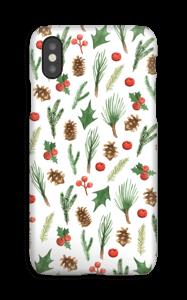 Wintery Mix case IPhone XS