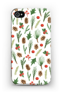 Wintery Mix case IPhone 4/4s