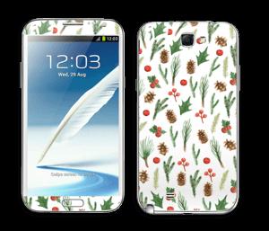 Winter pattern Skin Galaxy Note 2