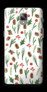 Winter pattern Skin OnePlus 3