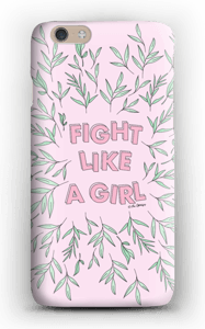 Fight Like A girl! deksel IPhone 6