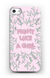 Fight Like A Girl ! case IPhone SE