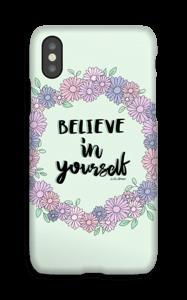 Believe in Yourself deksel IPhone X