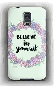 Glaub an dich Handyhülle Galaxy S5