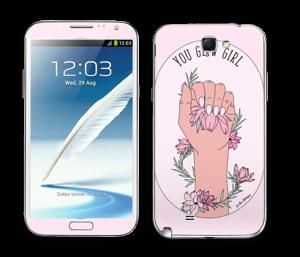 You Glow Girl Skin Galaxy Note 2