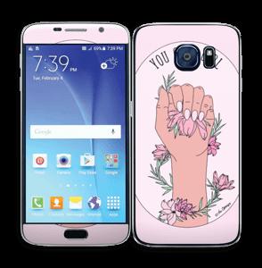 You Glow Girl Skin Galaxy S6
