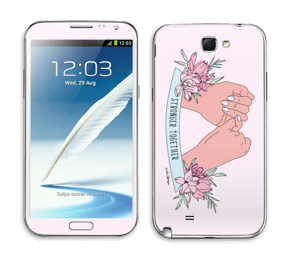 Stronger Together Skin Galaxy Note 2