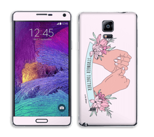 Stronger Together Skin Galaxy Note 4