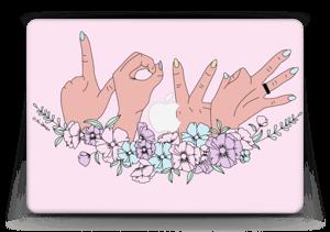 """Love is Love Skin MacBook Air 13"""""""