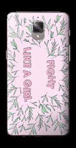 Fight Like A Girl ! Skin OnePlus 3