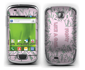 Fight Like A Girl ! Skin Galaxy Mini