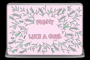 Fight Like A Girl ! Skin Laptop 15.6