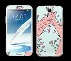 Let It Grow Skin Galaxy Note 2