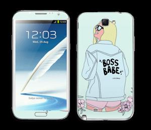 Boss Babe Skin Galaxy Note 2