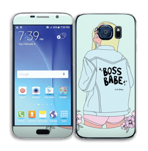 Boss Babe Skin Galaxy S6