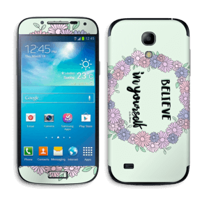 Believe in Yourself Skin Galaxy S4 Mini