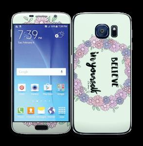 Believe in Yourself Skin Galaxy S6