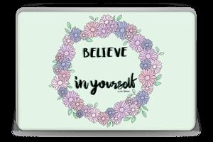 Believe in Yourself Skin Laptop 15.6