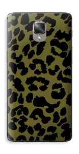 Black and green Skin OnePlus 3