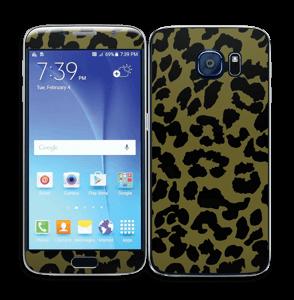 Black and green Skin Galaxy S6