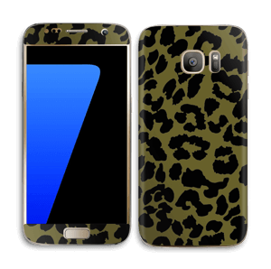 Black and green Skin Galaxy S7