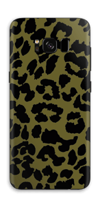The green leopard skin Galaxy S8