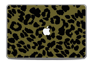 "Black and green Skin MacBook Pro 17"" -2015"